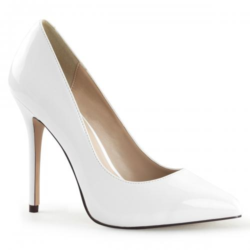 AMUSE-20 5 Heel White